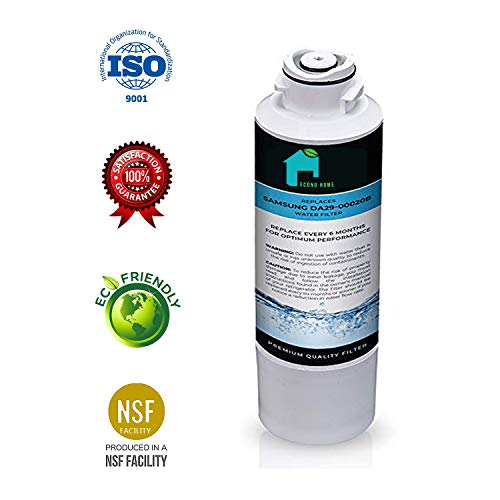SAMSUNG DA29-00020B Refrigerator Water Filter - 3Pk | - NSF Certified | Also Replacement for some AQUA FRESH, WATER SENTINEL, KENMORE and side-By Side Fridge Appliances Models | By EconoHome ()
