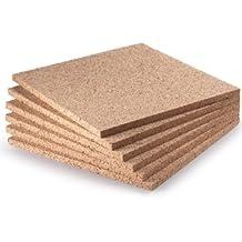 """WIDGETCO 1/2"""" x 12"""" Cork Squares (6 pack)"""