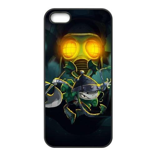 I6A51 Rayman Legends T6D0KO coque iPhone 5 5s cellulaire cas de téléphone couvercle coque noire WR5ODP8QI