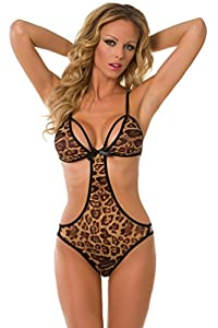 Velvet Kitten Sexy Wild Ways Teddy Lingerie for Women 3259