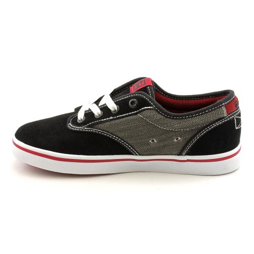 Globe Skateboard Shoes Motley Black/Dark Red