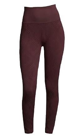 e6ac3078 Amazon.com: Phat Buddha Tribeca Burgundy Leggings: Clothing