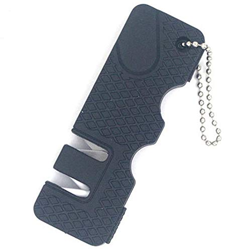 Knife Sharpener Sleek and Slim for Outdoor's Men Portable Mini Camping Pocket Knife Sharpener