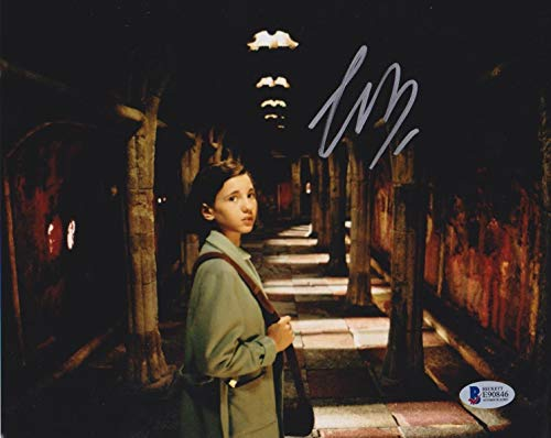 Ivana Baquero Autographed Signed 8x10 Photo Pan's Labyrinth Beckett Authentic Signature Coa D