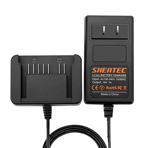 Shentec 18V Lithium Battery Charger Compatible with Hitachi 18V 339782 BSL1830C BSL1815X BSL1815S BSL1830 330139 330557 Li-ion Slide Style Battery ()