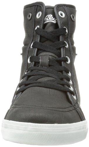 Lico Riverton - Zapatilla alta de material sintético infantil negro - negro