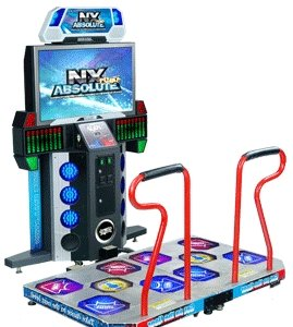 Pump It Up NX Absolute Dance Machine - Video Arcade Game - FX Deluxe Model (Pump Up Arcade It)