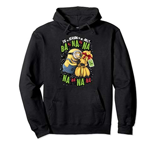 Despicable Me Minion Banana Present Christmas Hoodie]()
