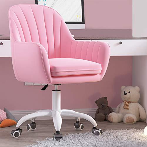 LIYANJJ Ergonomisk konferensstol, sammetstyg hem kontor stol svängbar höjd justerbar ergonomisk dator skrivbordsstolar graciösa mottagningsstolar