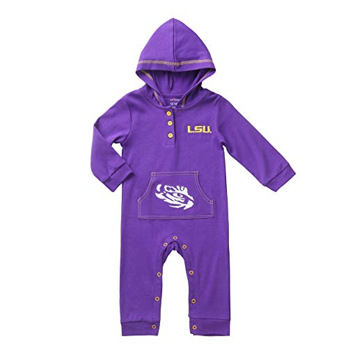Baby Lsu Football Costumes - Fast Asleep Pjs LSU Tigers Baby