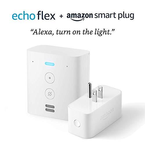 Echo Flex with Amazon Smart Plug
