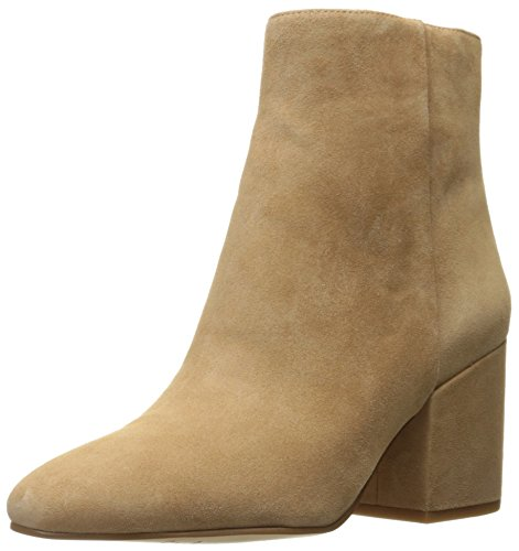 Sam Edelman Women's Taye Ankle Bootie, Golden Caramel Suede, 10 M (Black Suede Womens Bootie)