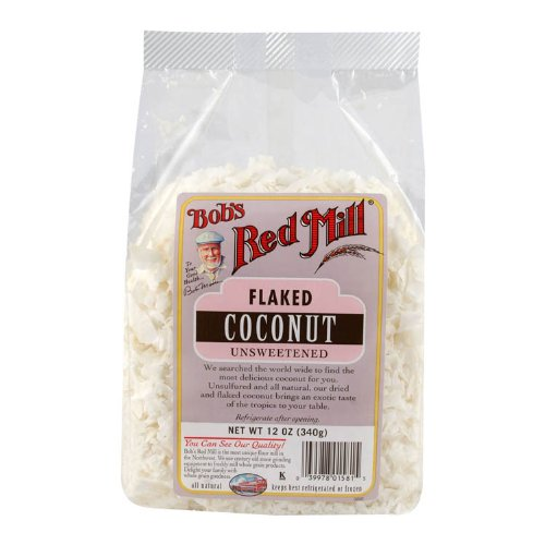 Bobs Red Mill Coconut Flakes Unswt