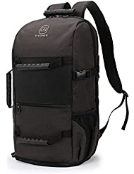 Travel Laptop Backpack, Mens Duffle Backpack, Large Capacity 17.3 inch Laptop Backpack with USB Charging Port,...