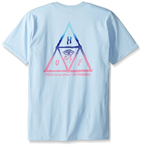 HUF Herren T-Shirts RA Triple Triangle Tee
