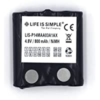 Accu voor Motorola IXNN4002B | Accu 800 mAh | 4,8 V NiMH batterij voor Motorola TLKR T5, Motorola TLKR T80 | lange…