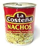 La Costena Nachos - Pickled Jalapeno Pepper Nacho Slices 26 oz. by La Costena