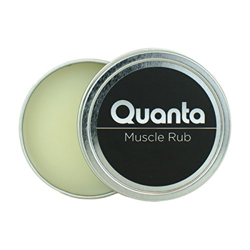 Quanta Organic All-Natural Hemp Muscle Rub - Targeted Pain Fighting Relief for Joint and Muscle Soreness – Longer Lasting, Faster Acting and Deeply Penetrating (1 oz)