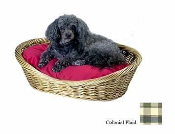 Amazon.com: Snoozer mimbre cesta para perro y cama, Medio ...