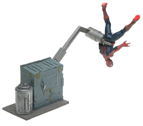 The Movie Series 2  Leaping Spider-Man Action Figure Spider-Man