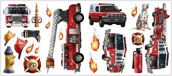 Fire Brigade Peel & Stick Wall (Fire Brigade Peel)