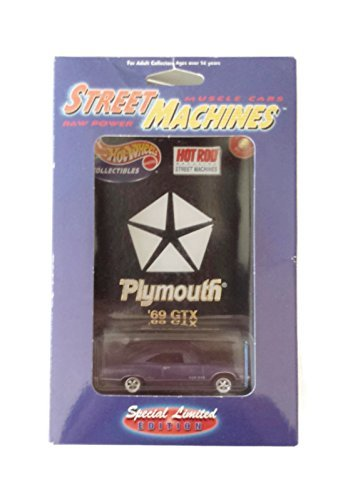 Rod Plymouth Hot - Hot Wheels Hot Rod Magazine Street Machines - 69 Plymouth GTX