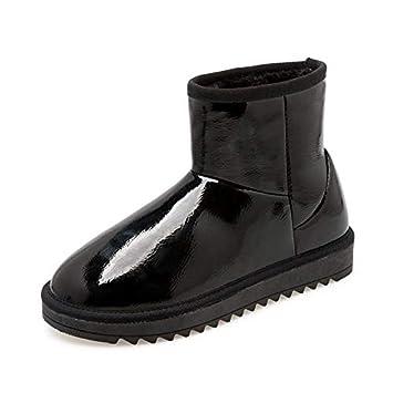 AGECC Zapatos Botas para el Campo de Nieve de Invierno Botas