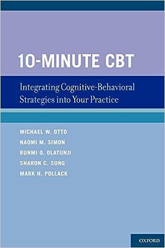amazon 10 minute cbt integrating cognitive behavioral strategies