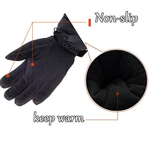 impermeabile Orange lavoro Thick Outdoor Amdxd Non antiscivolo Screen Indossare guanti da Touch Women xB1wI7A