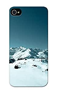 Fireingrass 73b1265904 Protective Case For Iphone 5/5s(top Of The Ski Slopes ) - Nice Gift For Lovers