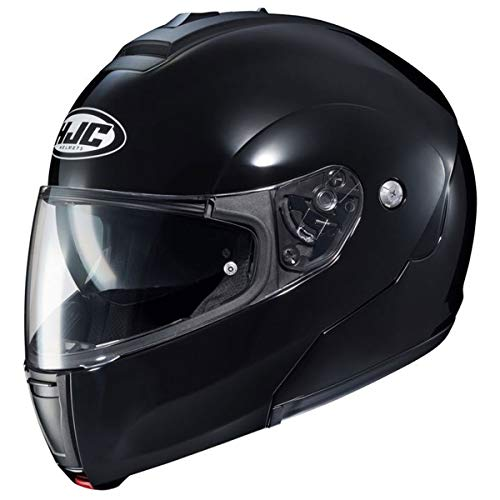 - HJC CL-Max 3 Men's Snowmobile Helmet - Black/X-Large