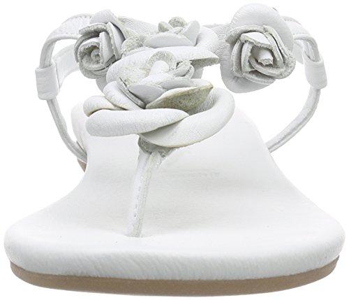 White 28121 Sandalen Tamaris Damen Weiß Offene 100 nXgz0zqB