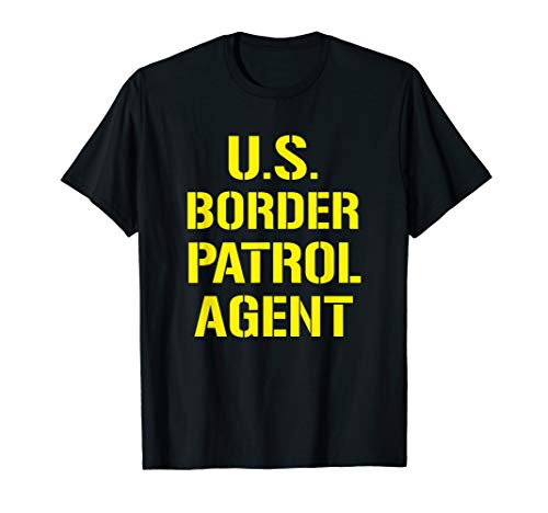 US Border Patrol Agent Halloween Costume ICE T-Shirt -