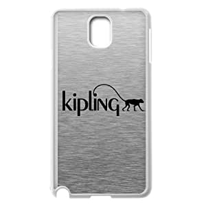 Trendy Kipling Brand Logo Protective Hard Phone Case,TPU Phone case for SamSung Galaxy Note3,white
