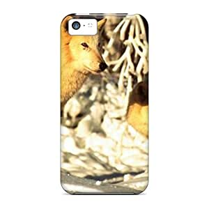 High Quality CarlHarris White Mates Skin Cases Covers Specially Designed For Iphone - 5c