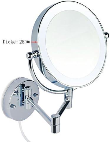 Infrarot-Sensor WEH-7 3cm dick LUXUS LED Beleuchtet Kosmetikspiegel 7Fach