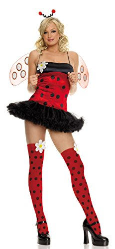 83219 ((XS)) Lady Bug Daisy Sexy Costume By Leg Avenue -