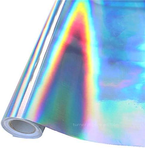 Rollo de vinilo adhesivo arcoíris, 24 pulgadas x 30 pies para ...