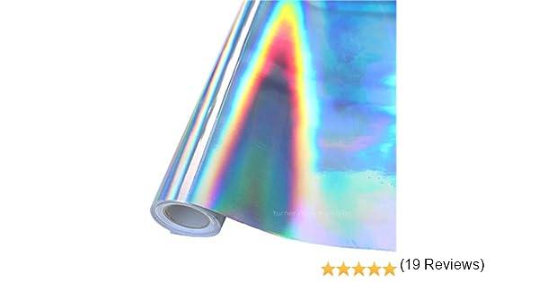 Rollo de vinilo adhesivo arcoíris, 24 pulgadas x 30 pies para Maker, Explore, Silhouette Cameo y cortadores de manualidades (adhesivo de vinilo arcoíris): Amazon.es: Juguetes y juegos