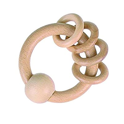 Heimess Clutching Toy with 4 Rings: Toys & Games