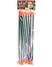 Sunny Days Entertainment 10 Pack Replacement Arrows – 16 Inch Long Arrow for Kids | Extra Replacement Arrows for Archery Bow Set – Maxx Action