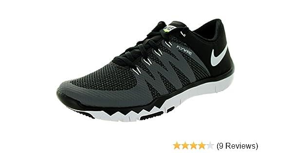 99153e061f2ab ... new zealand amazon nike mens free trainer 5.0 v6 training shoe black  dark grey volt white