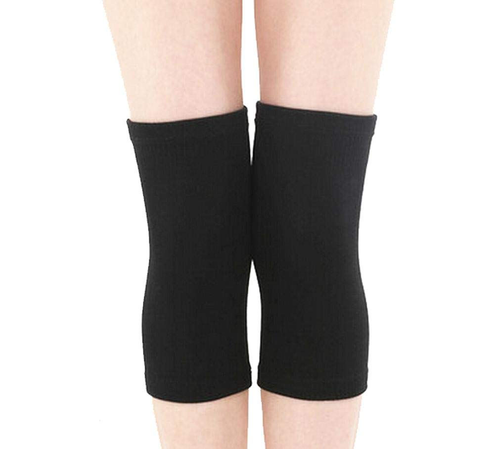Slim Knee Brace Sleeve for Sports-Yoga-Dance-Arthritis-Joint Pain Black (m)