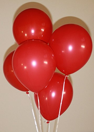 12latex balloons (100 count), Red