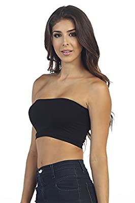 Kurve Seamless Bandeau Tubetop (Non-Padded)Made in USA