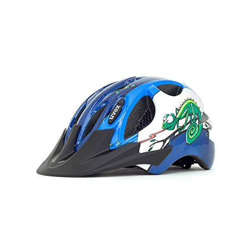(Uvex Hero Children's Bicycle Helmet Fully Adjustable 49-54cm Age 2-3 (Chameleon))
