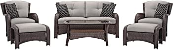 Hanover Outdoor Strathmere 6-Piece Lounge Set