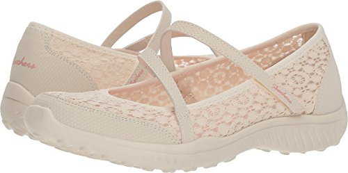 0ed0e1050960 Skechers Be Light Florescent Womens Mary Jane Sneakers Natural 8.5  (B07CPYHB9W)