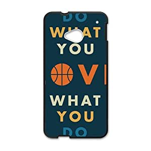 Happy Obey your heart motto Cell Phone Case for HTC One M7