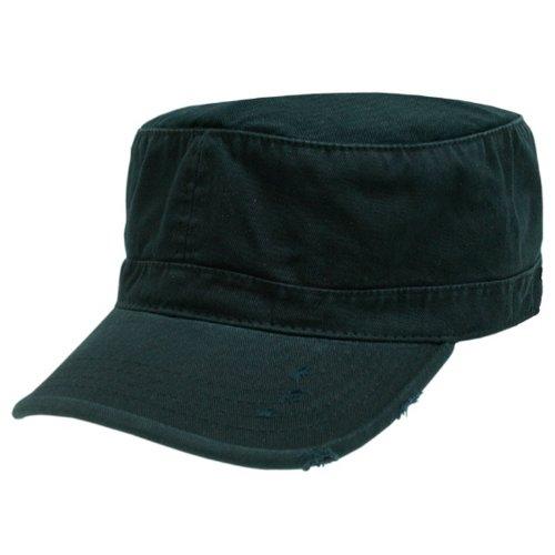 Rapid Dominance Genuine Vintage BDU Fatique Cotton Caps (BLACK, MEDIUM)
